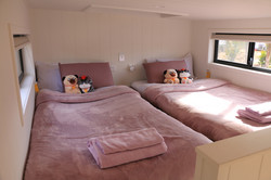 Main Loft bedroom with authentic Japanes