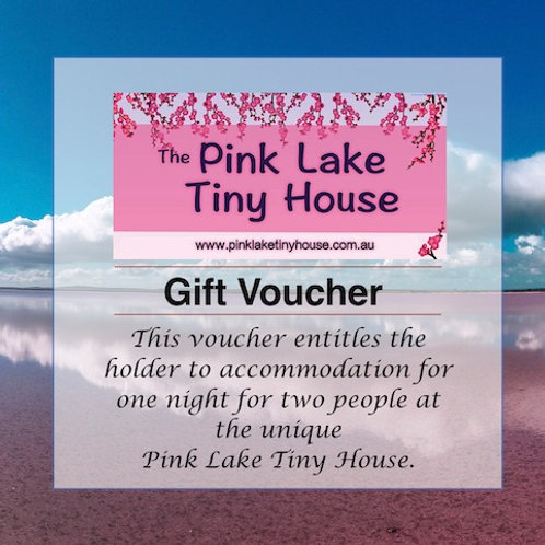One night stay (Two people) Gift Voucher