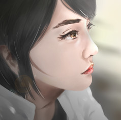 Figure painting practice