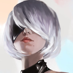Figure painting: 2B