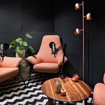 • Clarion Hotel Stockholm öppnar poddstudio i SoFo