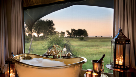 125 000 dollars-safari med privatjet