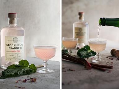 Fixa sommarens lyxigaste drinkar med rosa gin!