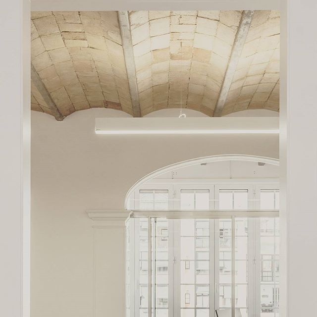 New offices #light #white #minimal #interior #newspace #newuse #newoffices #oldbuilding #architectur
