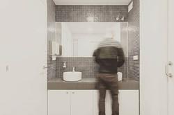 The bathroom #newoffices #newuse #architecture #renovation #interiors #rehabtime _rehabmeeee #archit