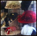victorian, kentucky derby, steampunk, red hats