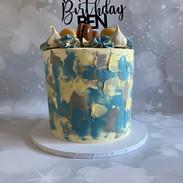 Textured Celebration Cake