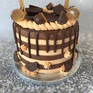 Chocolate Orange Drip Cake