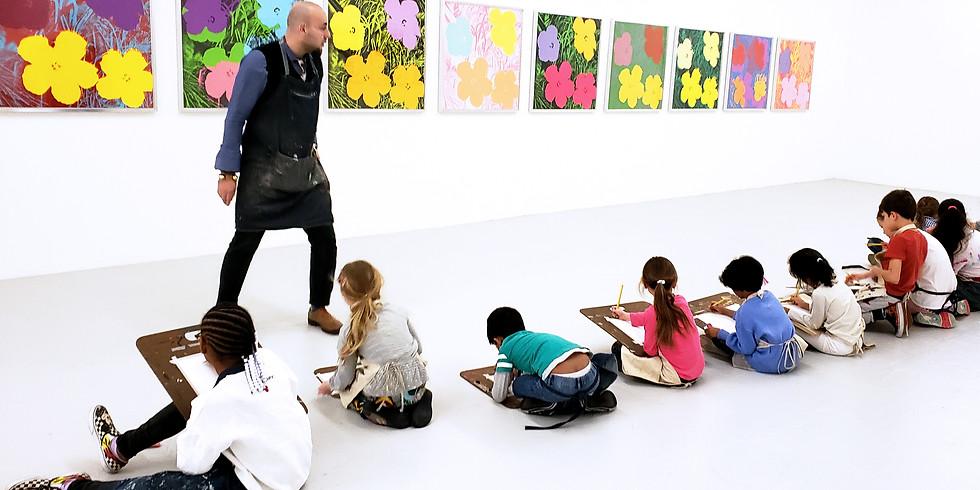 Canco Park / Mana Contemporary Children's art class April 13, 2019