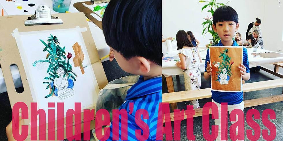 Pacheco's Aprons kids art class ages 6-12 Canco Park / Mana Contemporary