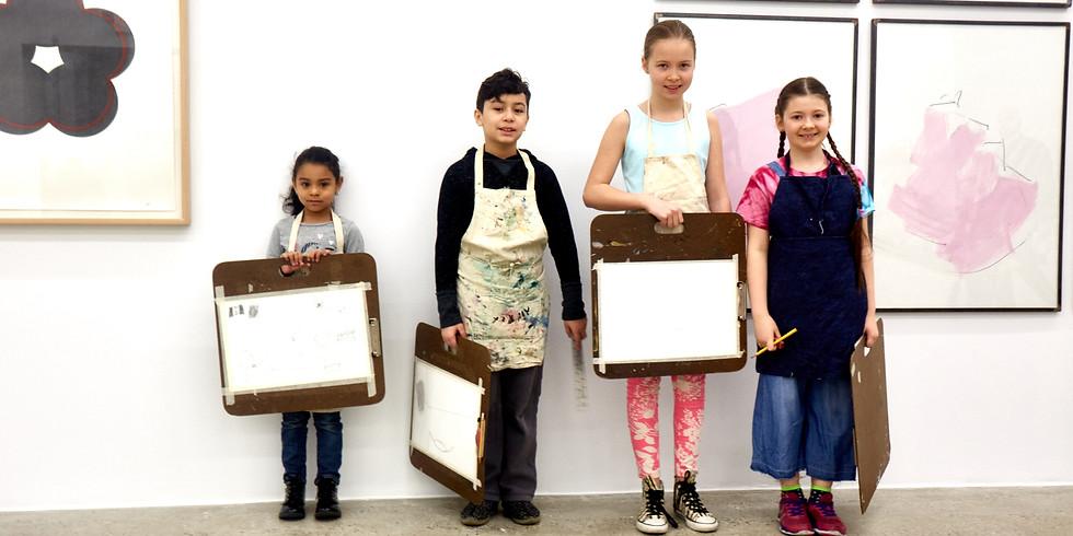 Canco Park / Mana Contemporary Children's art class May 4
