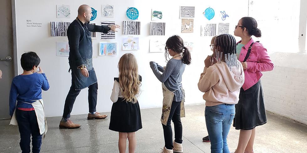 Canco Park Conservancy Children's Art Program
