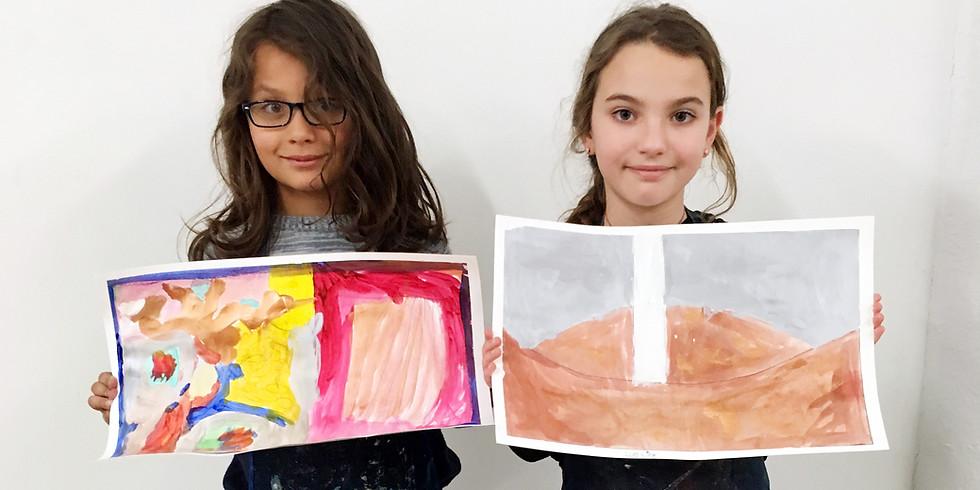 Canco Park / Mana Contemporary Children's art class March 30, 2019