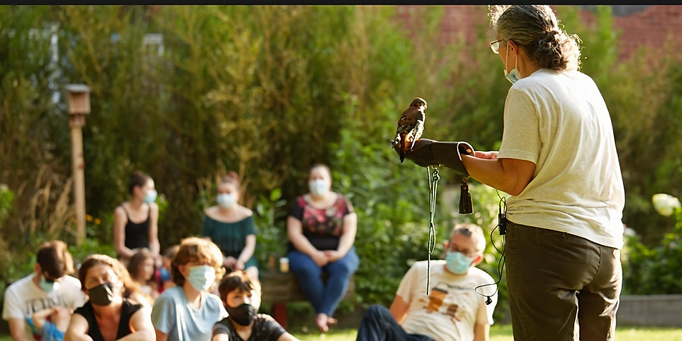 Super Saturday Canco Park 10/17 LIVE Birds, Hooping, Music, Books & More
