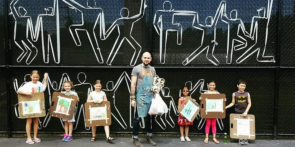Children's art Class ages 6-12 Hosted by Mana Contemporary