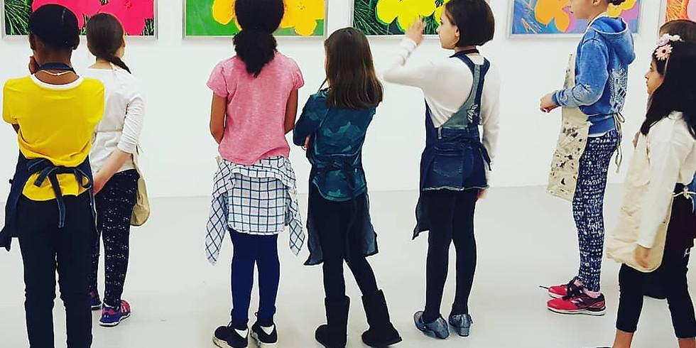 Canco Park / Mana Contemporary Children's art class May 18, 2019