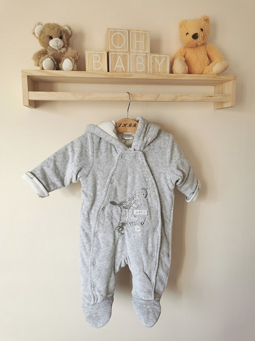 Velour 'GHMILY' snowsuit