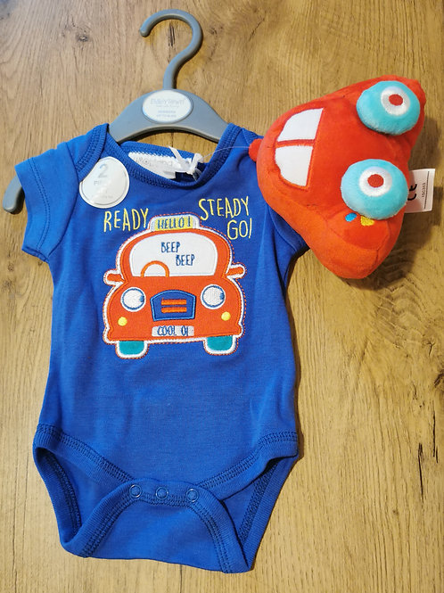 Car Bodysuit & Toy