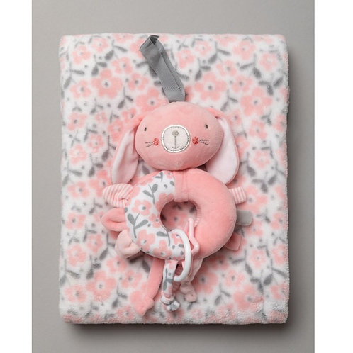 Baby Pink Blanket & toy