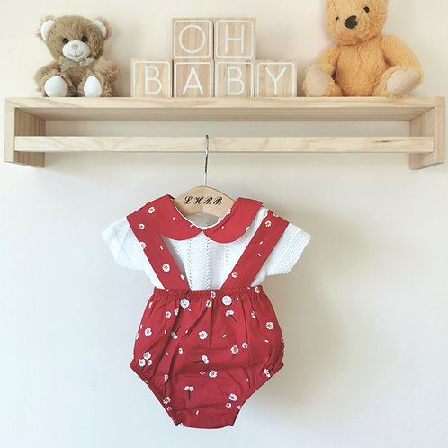 Daisy bloomer outfit