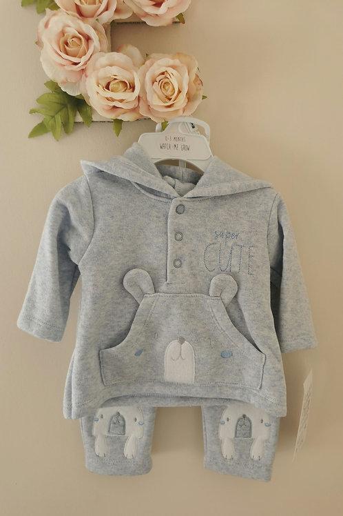 Baby Blue Teddy jogger set