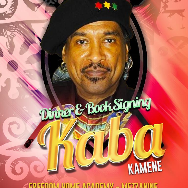 Kaba Kamene - Dinner & Book Signing