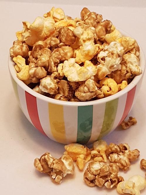 Cheesy Caramel Ganja Popcorn