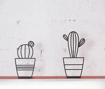 cactus metal decorative stand 3 styles  | design accessories