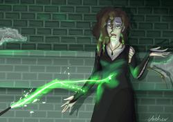 Bellatrix Alternative Death Scene