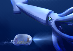 Bubble Submarine - First Version
