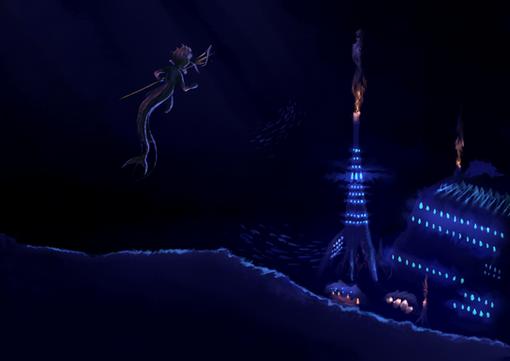 Mer City - Night Scene
