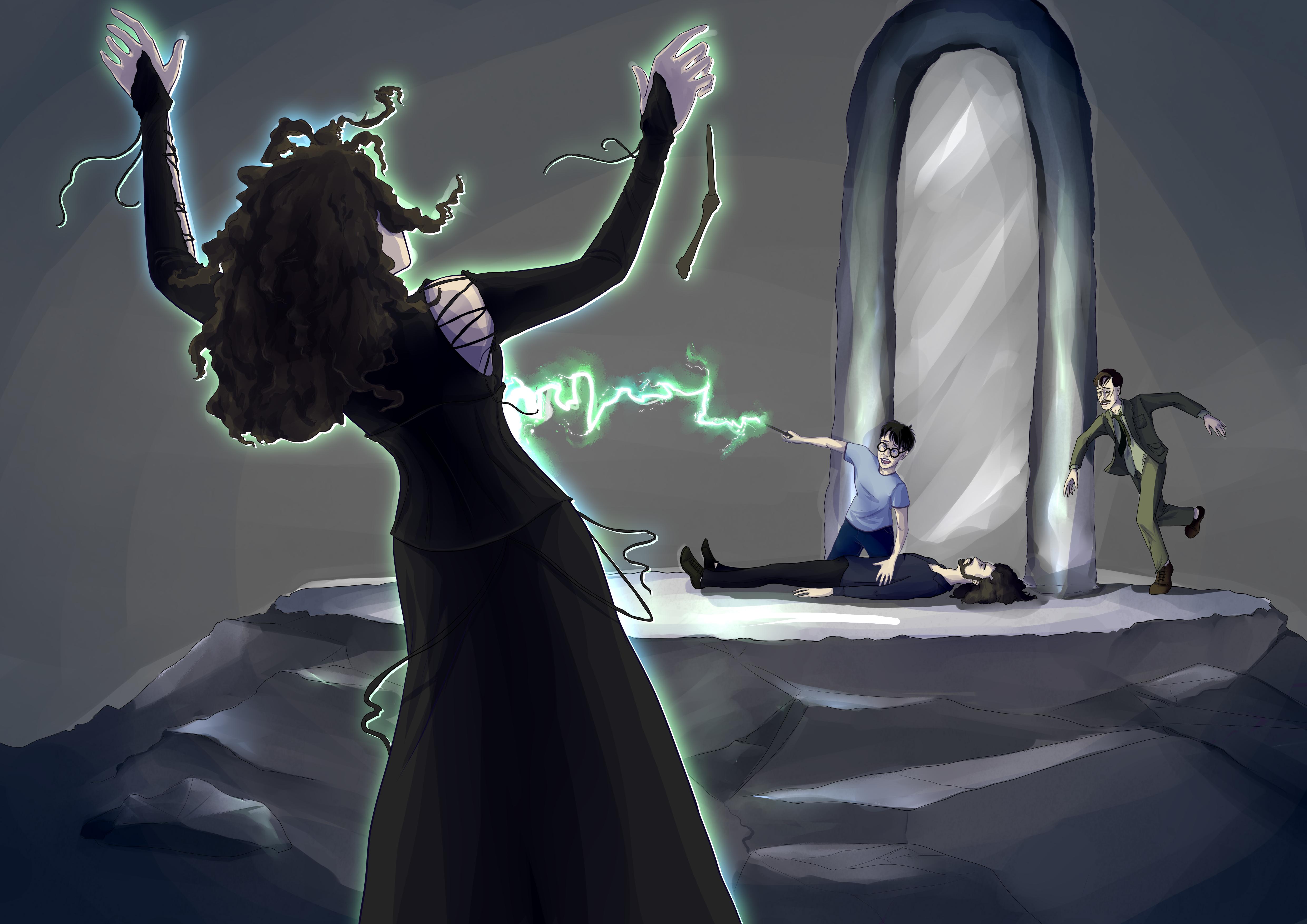 Bellatrix Death - Fixed Narrative