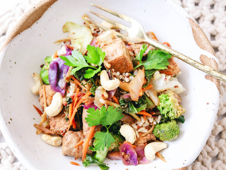 Easy Tempeh Stir Fry