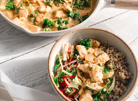 Quick and Easy Satay Chicken