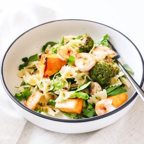 Prawn and Roast Veg Pasta Salad