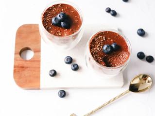 High Protein Dark Chocolate Mousse