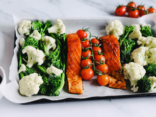 Teriyaki Salmon Tray Bake