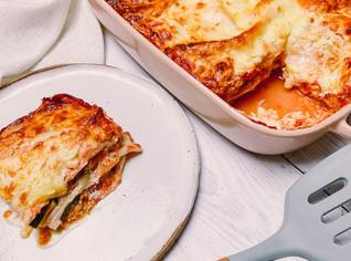 Zucchini Pumpkin and Ricotta Lasagna