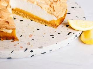 Healthier Lemon Meringue Tart