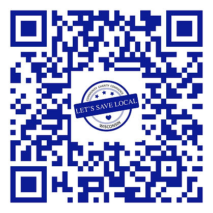 QR Scan Code to become a Let's Save Local business partner