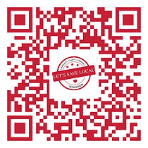 QR Scan Code to become a Let's Save Local Member