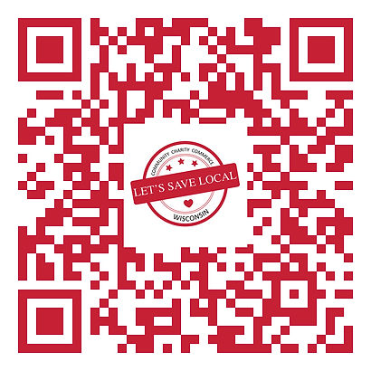 QR Scan Code for Let's Save Local Membership