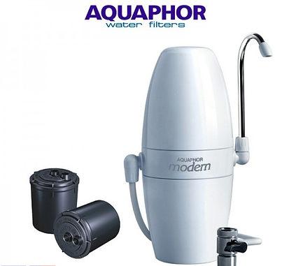 Aquaphor Modern V2 Λευκό Φίλτρο Νερού Άνω Πάγκου