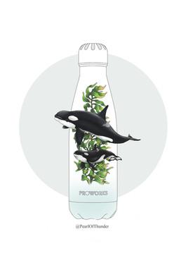 Bottle design for ProworksBottles