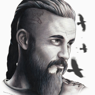 Ragnar - Black and white