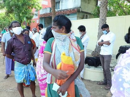 You have fed 325 families in India - Blessed Rice Project
