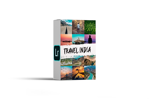 TRAVEL INDIA LIGHTROOM PRESETS
