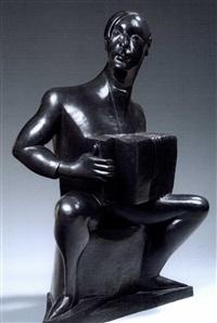 L'accordéoniste Per Krohg 1924