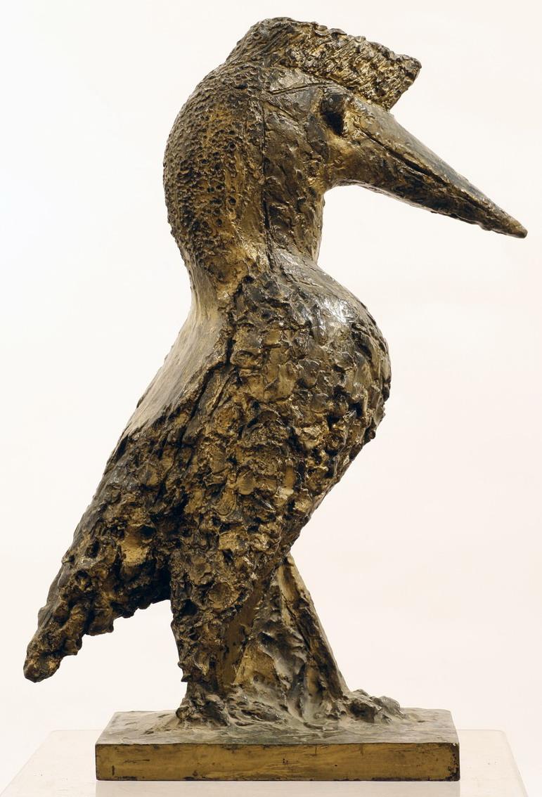 Oiseau au long bec 1950