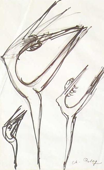 Danseuses acrobates